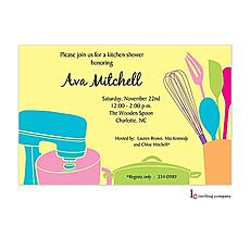 : Kitchen Invitation