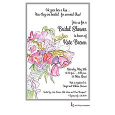 : Bouquet Wash Invitation
