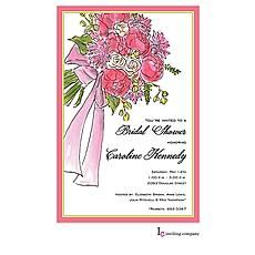 Bridal Bouquet Invitation -