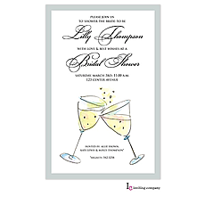 Toasting Invitation -
