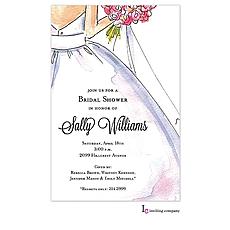 Sweet Bride Invitation -