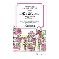 Bridal Table Invitation -