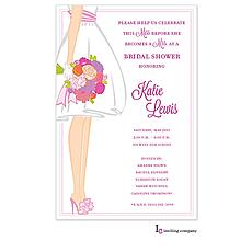 : Summer Bride Invitation