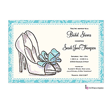 Bridal Heels Invitation -