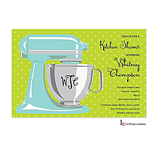 Sweet Mixer Invitation -