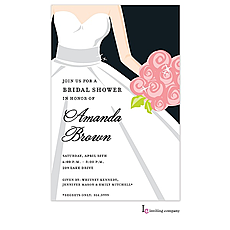 Bride Glow Invitation -