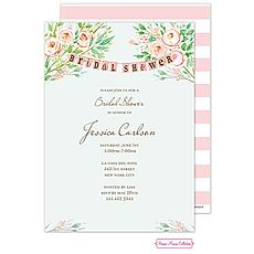 Beautiful Bridal Banner Invitation -