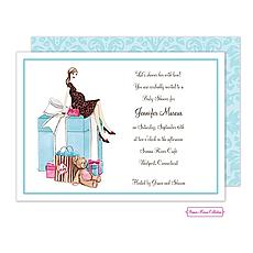 : Baby Box Invitation