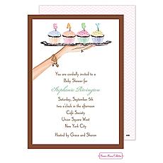 : Baby Cupcakes Invitation