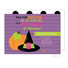 : Cute Witch Invitation
