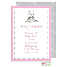 : Cottontail Invitation