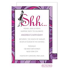 : Lavender Surprise Invitation