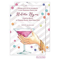 : Martini Cheers Invitation