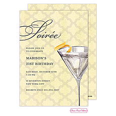 : Soiree With A Twist Invitation