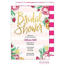 Fabulous Floral Invitation -