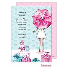 Lovely Bridal Shower Invitation -