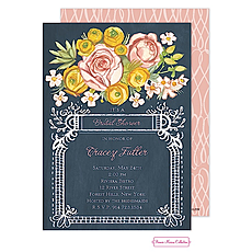Lush Floral Invitation -