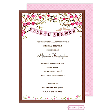 Love Birds Invitation -