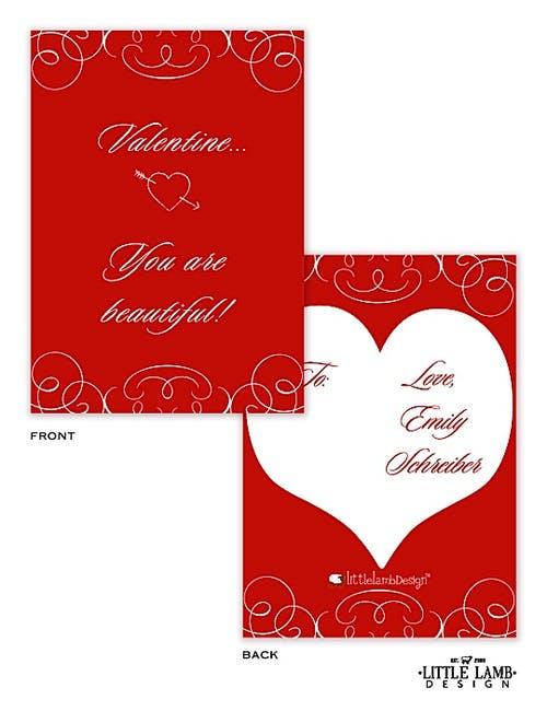 Beautiful Valentine Cards Little Lamb Design