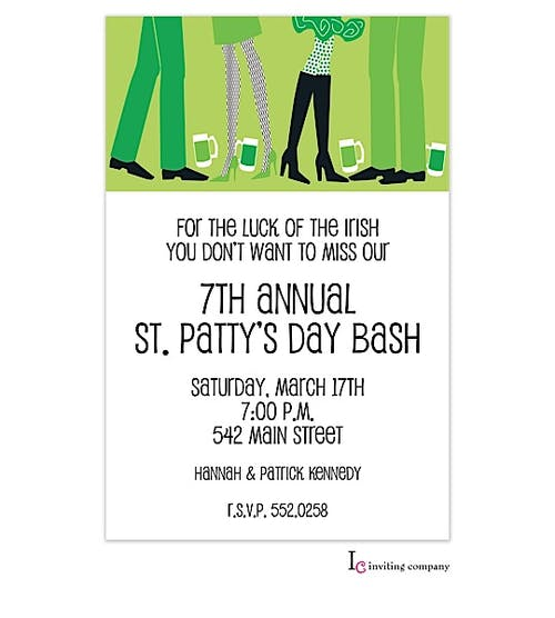Irish gathering invitation inviting company irish gathering invitation stopboris Choice Image